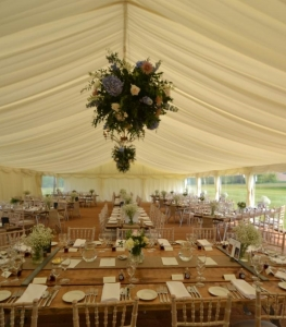 Yarlington House Marquee Interior