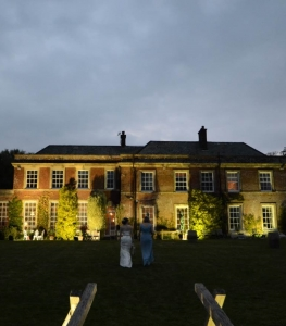 Yarlington House Night Wedding
